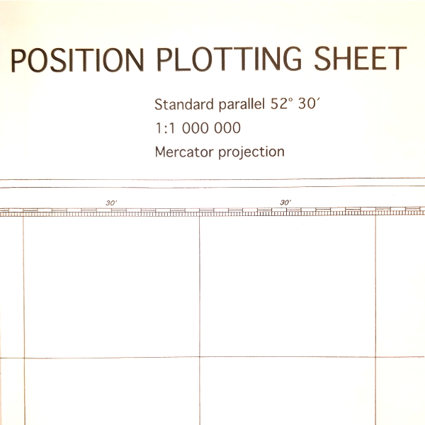 Position plotting sheet